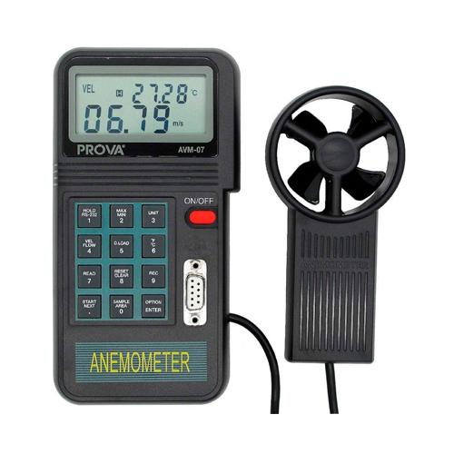 Imedición anemómetro Prova AVM07