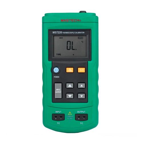 Imedición calibrador de temperatura MASTECH MS7220