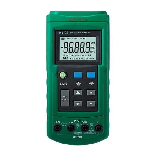 Imedición calibrador de temperatura Mastech MS7221