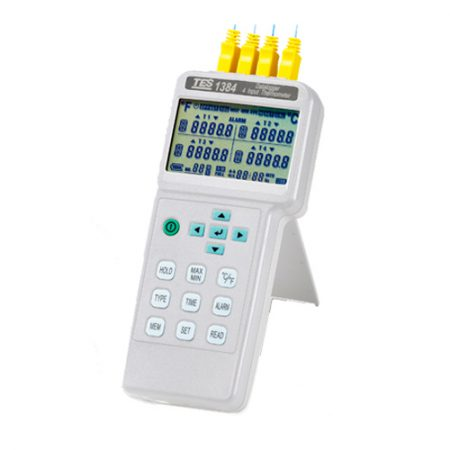 Imedición datalogger digital de temperatura TES 1384