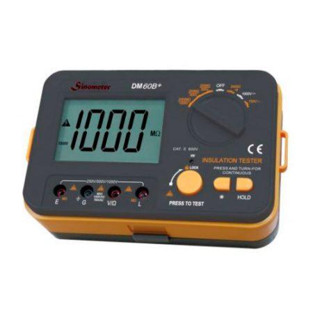 Imedición megómetro Sinometer DM60B