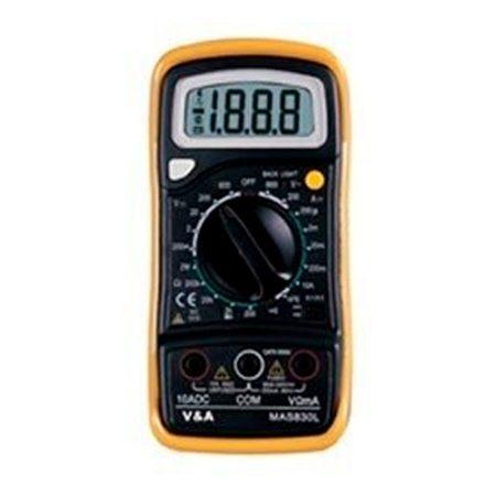 Imedición multímetro digital TES 830